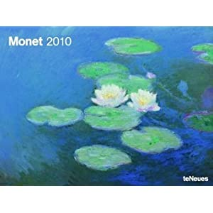 2010 Claude Monet Super Poster Calendar horizontal Claude Monet