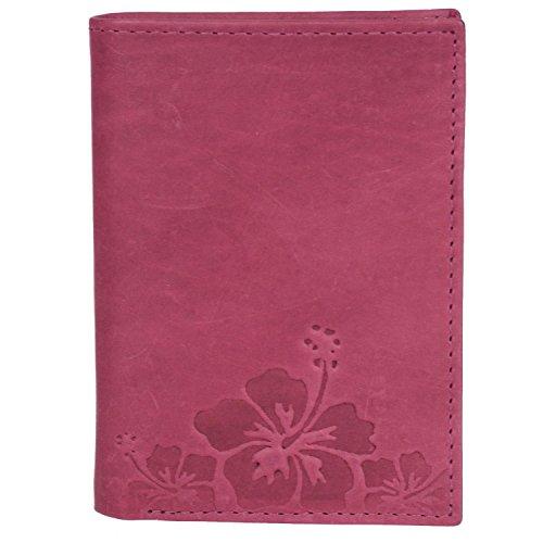 HJP Pfeifle , Porta carta di identità  Marrone lipstik pink