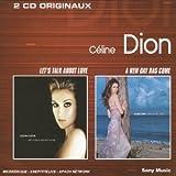 echange, troc Céline Dion - Coffret 2 CD : Let's Talk about Love / A New Day has come