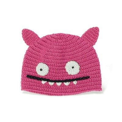 Uglydoll Strickmütze ICE BAT pink