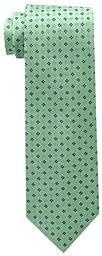 Tommy Hilfiger Men\'s Core Neat II Tie, Green, One Size