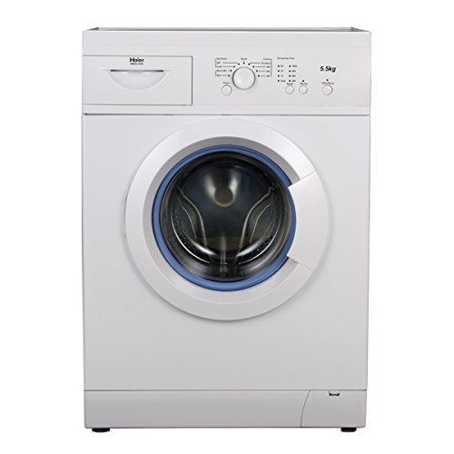 Haier HW55-1010 Fully-automatic Front-loading Washing Machine (5.5 Kg, 5 Star Rating, White)