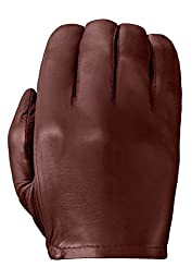 Tough Gloves Men\'s Ultra Thin Patrol-X Cabretta unlined leather gloves no points Size 9 Color Chestnut