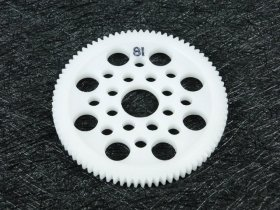 3Racing #3R/3Rac-Sg4881 48 Pitch Spur Gear 81T For Most Rc Cars