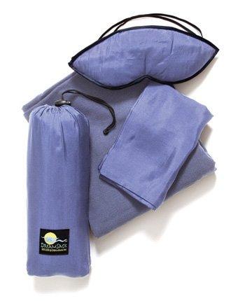Silk Eye Mask, Blanket & Pillow Case front-514975