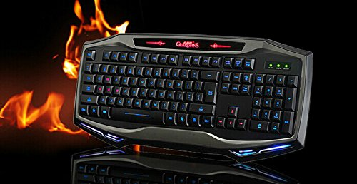 Led Backlit Illustrated Usb Gaming Keyboard Waterproof