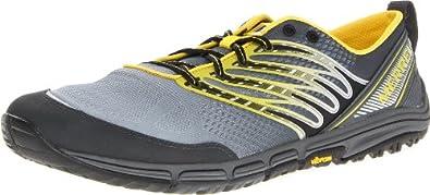 Merrell Men's Ascend Glove Trail-Running Shoe,Wild Dove,9 M US