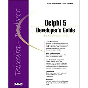 Delphi 5 Developer's Guide (Developer's Guide)
