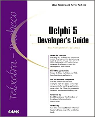 Delphi 5 Developer's Guide (Developer's Guide)