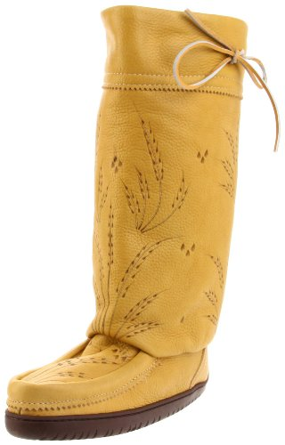 Manitobah Mukluks Tall Gatherer 20112 Boot,Tan,Women's 5 M US