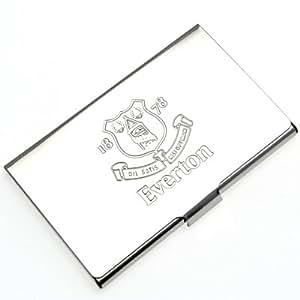 Everton fc metall visitenkarten halter sport freizeit - Metall visitenkarten ...