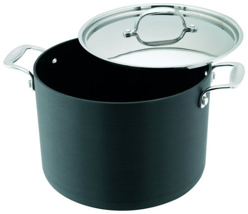 Stellar Hard Anodised 24cm Stockpot