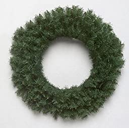 Pack of 6 Canadian Pine Artificial Christmas Wreaths 16\