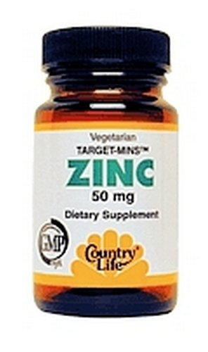 Country Life Target Minuten Zink 50mg 90 Kapseln