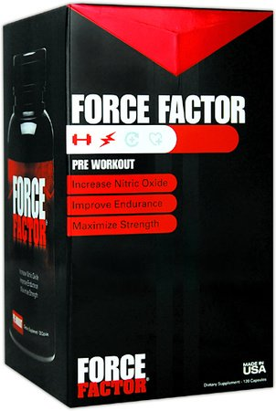 Force Factor Pre Workout Capsules 120 ea