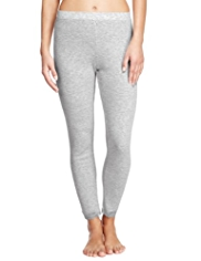 Ankle Length Pointelle Thermal Leggings
