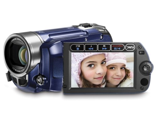 Canon FS100 Flash Memory Camcorder with 48x Advanced Zoom (Blue)