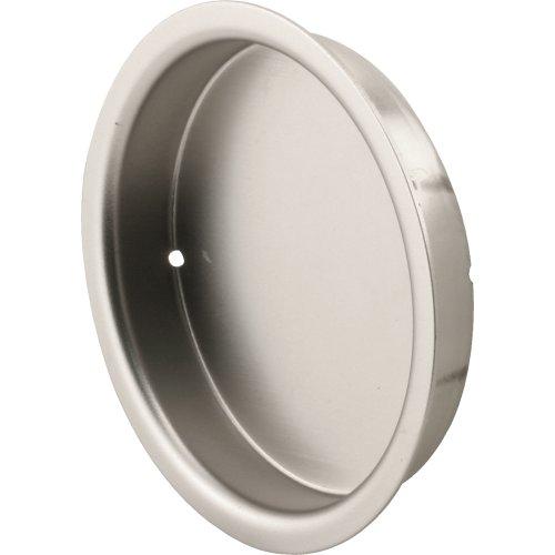 Slide-Co 163920 Closet Door Finger Pull, 2-1/8-Inch, Satin Nickel picture