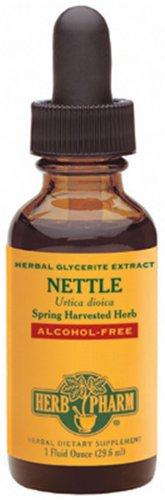 Herb Pharm Stinging Nettle Glycerite Supplement, 1 Ounce