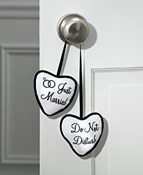 Lillian Rose Satin Do Not Disturb Door Hanger, 3.5-Inch