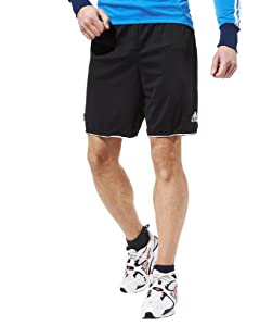 Adidas Parma Mens Sport shorts (Medium, Black)