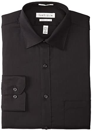 Van heusen men 39 s regular fit pincord dress shirt at amazon for Van heusen men s regular fit pincord dress shirt