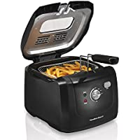 Hamilton Beach 35021 Deep Fryer with Cool Touch (Black)