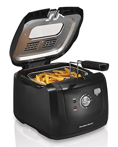 Hamilton Beach Electric Deep Fryer with Cool Touch, 6-Cup Oil Capacity (35021) (Deep Fat Turkey Fryer compare prices)