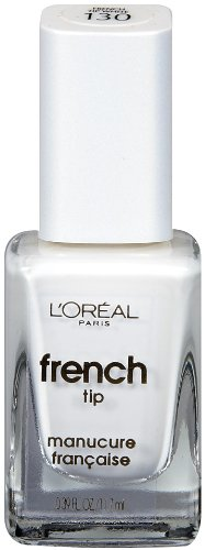 L'Oreal Paris Pro Manicure Nail Polish French Tip White 0.39-Fluid Ounce