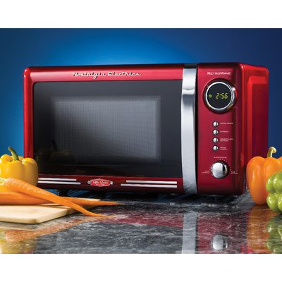 Nostalgia Electrics RMO770RED Retro Series Countertop