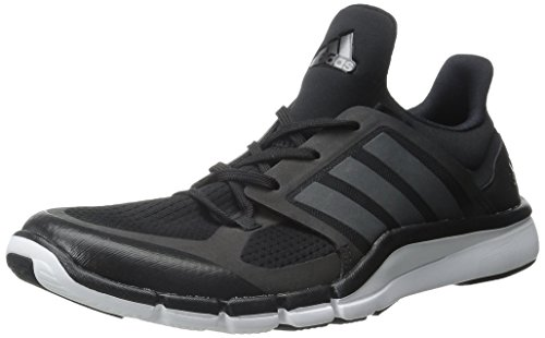 Adidas Performance Women's Adipure 360.3 W Training Shoe,Black/Night Metallic/Black,8 M US