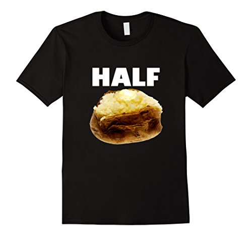 Men's Half Baked Funny TShirt Large Black (Half Baked Tshirt compare prices)