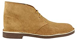 Clarks Men\'s Bushacre 2 Chukka Boot, Wheat Suede, 11 M US/44.5 EU
