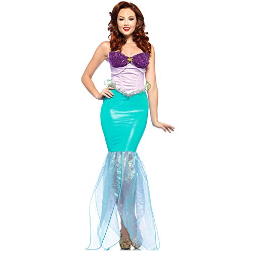 Sexy4Lady Women's Disney Undersea Ariel Costume
