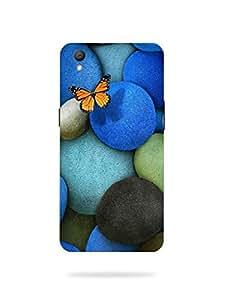 Joe Printed Plastic Back Case For Oppo A37 Mobile ( Multicolor)