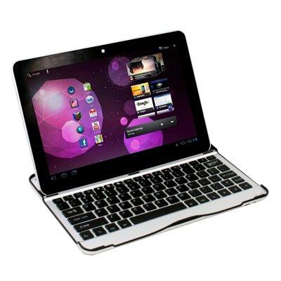 Wireless Bluetooth Keyboard Aluminum Case for Samsung Galaxy Tab10.1 P7510 P7500