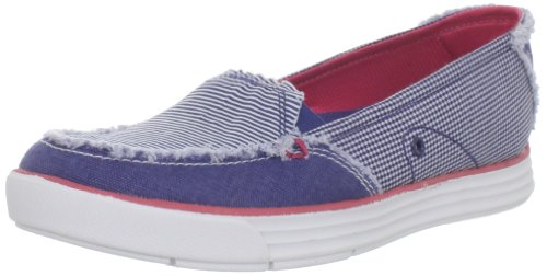 Dr. Scholl's Women's Waverly Loafer,Navy/White/Pink,7.5 M US