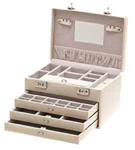 Davidt's - 367692.04 - Boîte à bijoux Femme - Beige