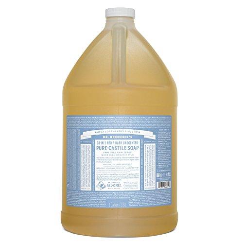 Dr. Bronner's, Organic Mild Castile Soap, Gal