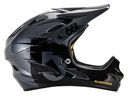 Six-Six-One-Comp-Helmet-BlackCharcoal-XS