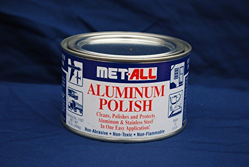 Aircraft Tool Supply Aluminum Polish, Met-All (16 Oz) (Aluminum Polishing Compound compare prices)