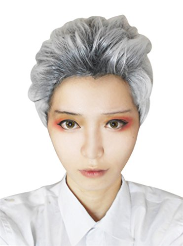 Nouqi® Men's Anime Handsome Synthetic Short Cosplay Hair Wig