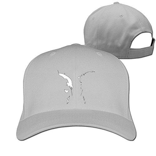 Truck caps Cool Men Women Bat V Super cartoon charachter hat LightGrey (5 colors) (Cartoon Charachters)