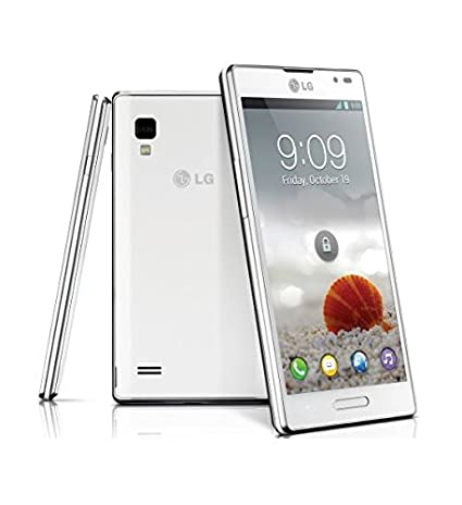 LG Optimus L9 P760,Smartphone Android,Orange,débloqués, 4Gb, Wi-Fi, DLNA, GPS, fotocamera 5MP ,Blanc
