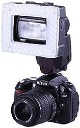 CDM Technologies & Solutions Pvt. Ltd. Nanguang CN-16 Camera LED Flash Light, Halogen Flash (Black)