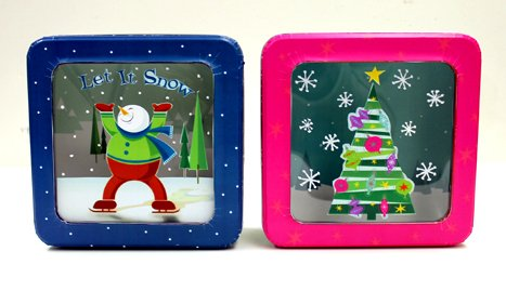 Christmas Window Tin - 1