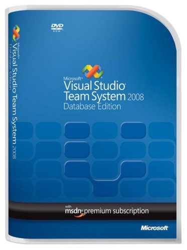 Microsoft Visual Studio Team System 2008 Database Edition w/MSDN Premium