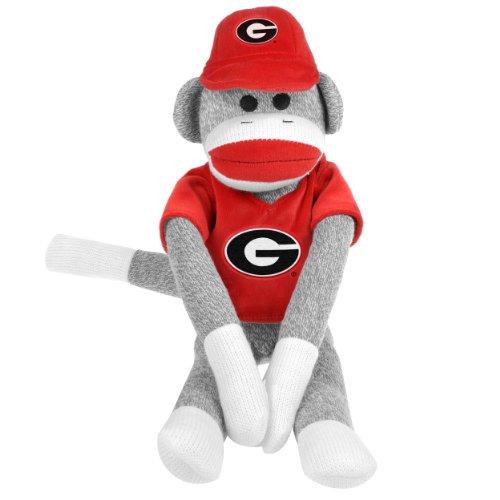 NCAA Georgia Uniform Sock Monkey at 'Sock Monkeys'