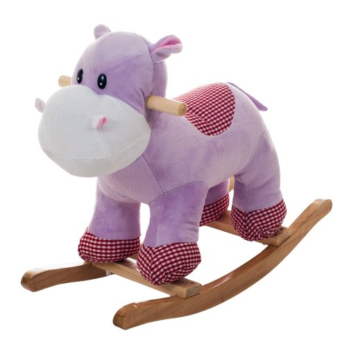Happy Trails Henrietta The Rocking Hippo Ride On - 1