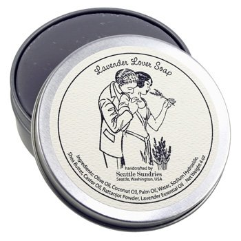 シアトル石鹸 Lavender Lover ラベンダーを愛する人 Seattle Sundries社製